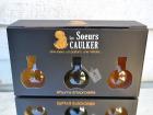 Les Soeurs Caulker - Rhums ensorcelés - Coffret De 3 Fioles Sucrées (abricot/ananas,coco,vanille/pêche Blanche)