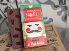 Le Petit Atelier - Tablette De Noël, Chocolat Au Lait Et Bonbons
