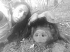 Le Noir du Picou Elodie Ribas - Saucisson de Couenne de Porc Gascon Bio