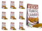 Crackers Résurrection - Lot de 10 sachets de crackers Châtaigne, Curcuma & Carvi