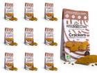 Crackers Résurrection - Lot de 10 sachets de crackers Châtaigne, Curcuma & Carvi