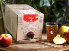 """Jus de fruits """"Ju"""" - Jus De Pommes Bio De Normandie Et Picardie - 5 Litres"""