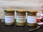 Les Délices du Scamandre - Trio de Tartinades : Pois Chiche, Crème de Riz à l'anchois, Pois Chiche-Betterave