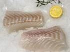 Pêcheries Les Brisants - Dos de Cabillaud - Pelé - Lot de 1kg