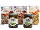 Les amandes et olives du Mont Bouquet - Panier Apéro : Amandes Grillées (ail, Épicé, Salées Fumées) et Olives Confites (piment Et Cèpes)