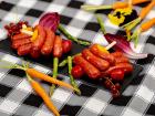 La ferme Grandvillain - Brochettes De Mini Saucisses De Poulet Nature 6 X 120 G