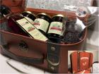 """La Ferme des petits fruits - Panier """"Voyage Gourmand"""" : confitures, pâtes de fruits et vinaigre de myrtille"""