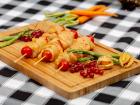 La ferme Grandvillain - Brochettes De Poulet - Marinade Indienne - 4 X 180 G