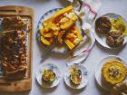 Multiproductions - Cédric Joliveau - Panier Batch Cooking Végétarien Caramel - 5 Plats pour 4 Personnes