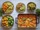 Maison Argentain - Panier Batch Cooking Végétarien Légumes d'Automne 5 Plats pour 4 Personnes