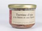 Les foies gras du Ried - Terrine D'oie À La Bière