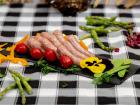 La ferme Grandvillain - Brochettes De Mini Saucisses De Poulet - Nature - 3 X 120 G