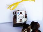 """Les amandes et olives du Mont Bouquet - Sachet """"douceurs Chocolatées"""" 100g"""