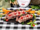 La ferme Grandvillain - Rôti De Poulet Fermier Agenais (bacon Et Pruneaux) - 800 G