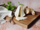 Ferme du caroire - Pyramide crémeuse au lait cru de chèvre