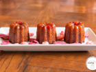 Les Cannelés d'Audrey - Cannelés Grenadine - 9 cannelés - Sans gluten