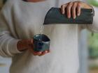 Atelier Eva Dejeanty - Service de Vaisselle en Céramique (Grès) : Pichet + Bol Modèle Cellule Taille XS