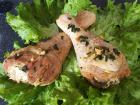 Les Volailles Fermières de Chambon - Demi Cuisses de Volailles marinées au paprika 1 kg