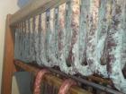 Le Noir du Picou Elodie Ribas - Saucisse Sèche de Foie de Porc Gascon Bio Entière