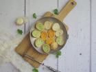 Limero l'Escargot Mayennais - Lot De 10 Assiettes De 12 Croquilles D'escargots Gros Gris Garnies Aux 3 Beurres