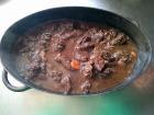 Les Délices du Scamandre - [SURGELÉ] Gardiane de Taureau de Camargue AOP Bio cuisinée et Prête à Déguster - 1,2 kg
