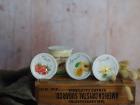 Ferme Chambon - Yaourts au Lait Cru de Vache parfums panachés : Nature, Vanille, Abricot, Fraise