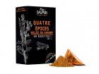 Epices Max Daumin - Quatre Epices de la Vallée du Faraony - Boite de dix dosettes