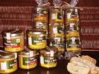 """Ferme du caroire - Lot Apéro : 4 tartinables """"Délices Du Berry"""" (piment x2 / curry / champignons)"""