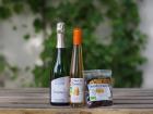 Domaine de l'Ambroisie - Coffret Pour Kir : Enigme, Crème De Mirabelle bio Et Mirabelles Séchées bio