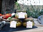 Les Jardins de Saphir - Pickles: Cornichons, Courgettes-curry Et Courgettes-cumin 3x180g