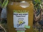 "Atelier PotPote - Conserverie Artisanale Bio - Sauce Aux Herbes ""façon Pesto"" Bio"