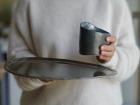 Atelier Eva Dejeanty - Service de Vaisselle en Céramique (grès) : Assiette Taille L et Tasse S modèle Cellule