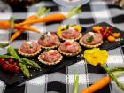 La ferme Grandvillain - Mini Tartelettes Poulet Et Chèvre 6 X 15 G