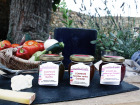 Les Jardins de Saphir - Lot de condiments à associer à vos fromages X3