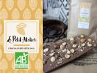 Le Petit Atelier - Tablette De Chocolat Au Lait Et Noisettes Caramélisées