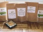 Nuage Sauvage - Panier Mixte Thé Grand Cru & Thé Parfumé + Un Paquet De Gâteau De Haricots Mungo Bánh Đậu Xanh