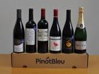 PinotBleu - Coffret de Vins Rouges et Champagne (6 Bouteilles)