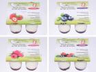 La Bergerie d'Ayze - 16 Yaourts de Brebis Fermiers Fruits Rouges: Framboise, Fraise, Myrtilles et Fruits des Bois