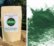 Spiruline des Oliviers - Spiruline En Poudre Cultivée En Provence - 5 Sachets De 100g