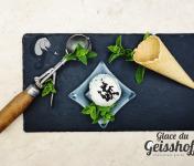 Glace du Geisshoff - Menthe After Eight Crème Glacée Fermière au Lait de Chèvre 750 ml