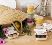 L'Atelier V* - Panier Du Parfait Léguminov*ore : Houmous Et Falafels 100% Naturels, Gourmands Et Créatifs