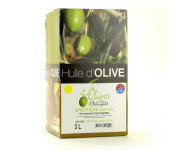 Les amandes et olives du Mont Bouquet - Huile d'olive Négrette 3 L