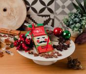 Le Petit Atelier - Petits Sujets De Noël Au Chocolat Noir Bio