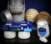 Ferme de La Tremblaye - Yaourt de Chèvre Fermier Bio  Nature 1 Pot