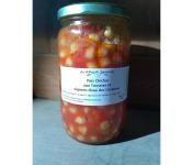 Les Délices du Scamandre - Pois Chiches Tomate Oignon Doux Des Cévennes - Bocal 650 G