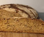 Depuis des Lustres - Comptoir Corse - la Bure du Prêcheur - petit épeautre et graines de lin - pain d'exception