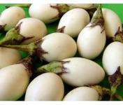 Maison du Pruneau - Cueillette du Gascon - Aubergine blanche à œuf ( mini aubergines ) lot de 6