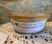 Des Poules et des Vignes à Bourgueil - Foie Gras de Canard au Naturel 240g