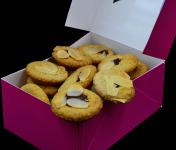 Philippe Segond MOF Pâtissier-Confiseur - Biscuit Linzer à la framboise 250g