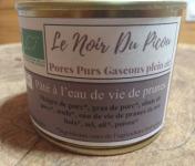 Le Noir du Picou Elodie Ribas - Pâté À L'eau De Vie De Prunes De Nos Bois